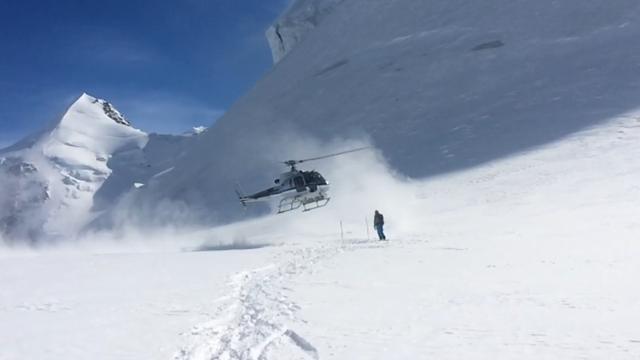 Helicóptero esquí Alagna