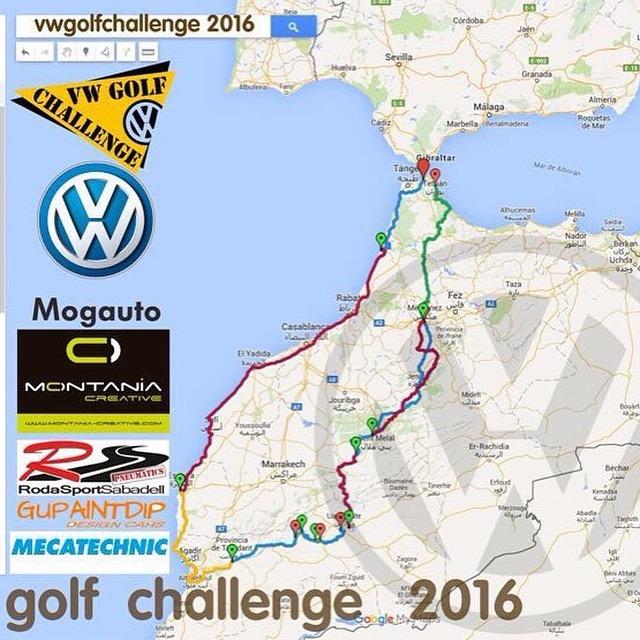 VW Golf Challenge 2016