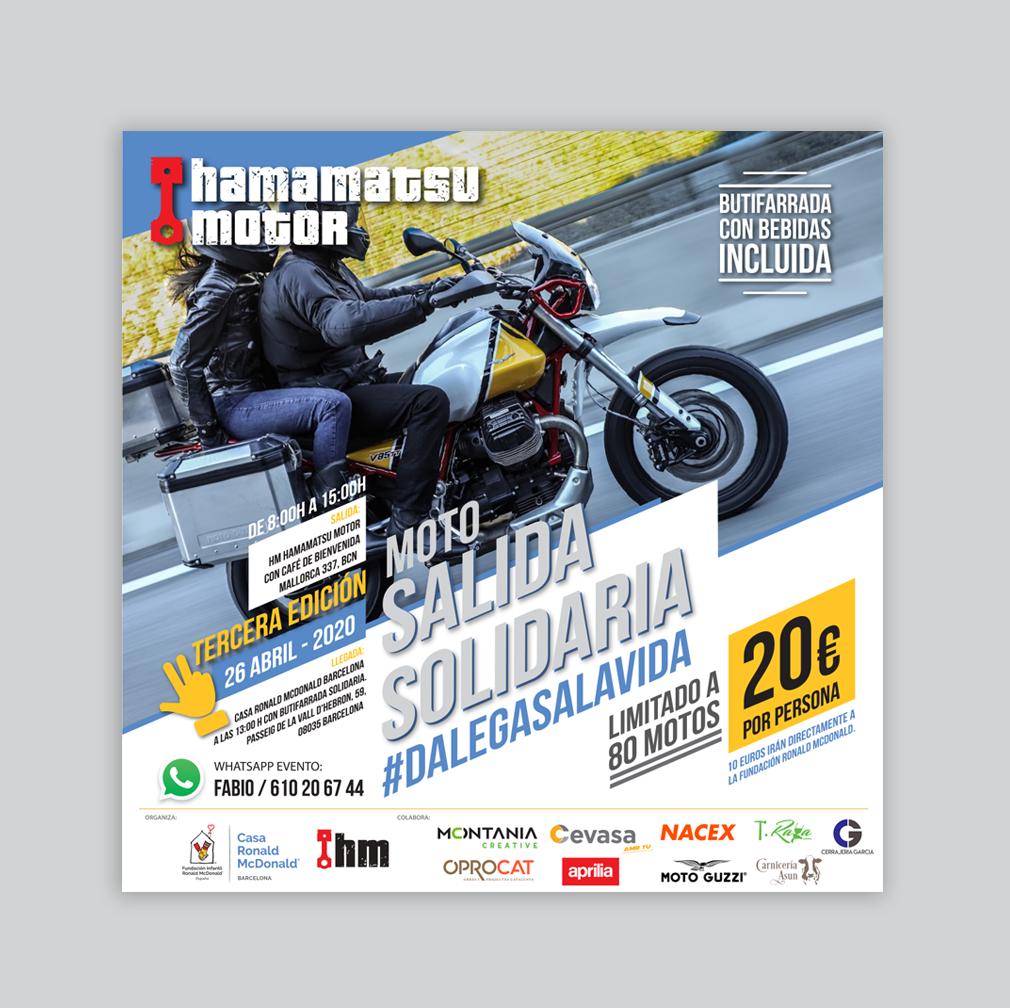 HAMAMATSU MOTOR | Póster – Impresión -Diseño – Publicidad