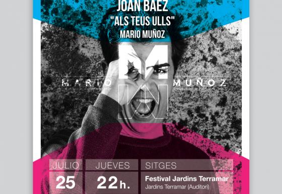 MARIO MUÑOZ | Póster – Impresión -Diseño – Publicidad