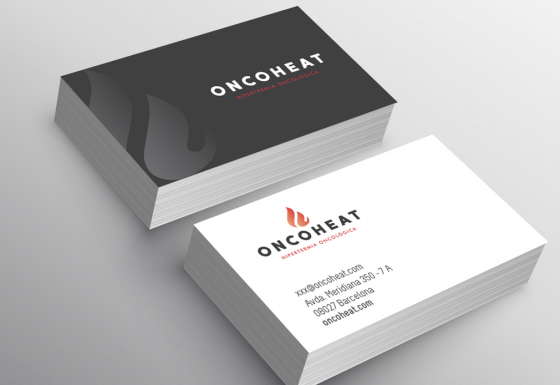 ONCOHEAT | Branding – Diseño – Impresión – Papelería