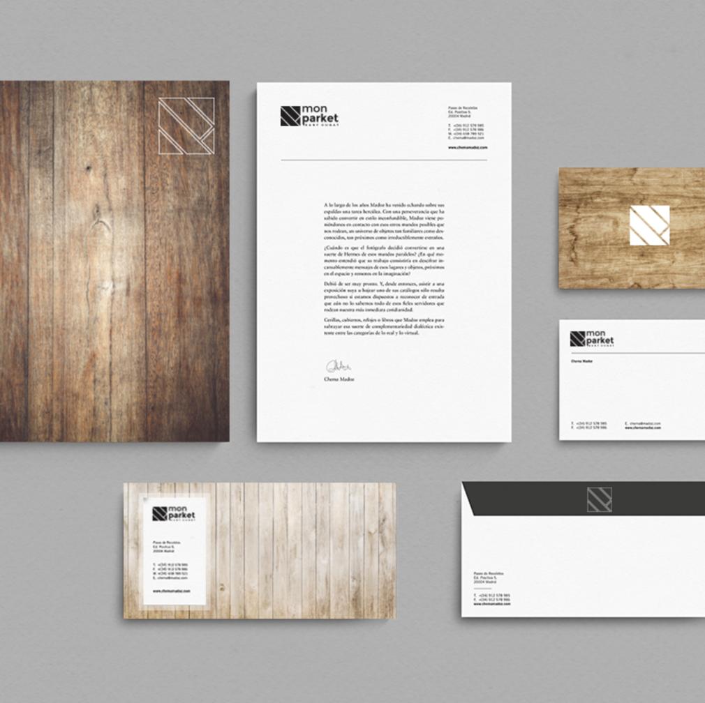 MON PARKET   Branding – Diseño – Impresión – Identidad