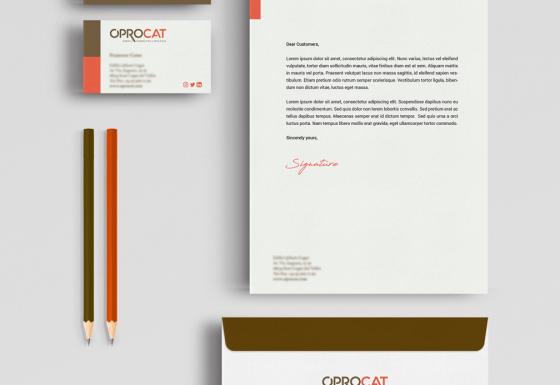 OPROCAT | Branding – Diseño – Impresión – Papelería