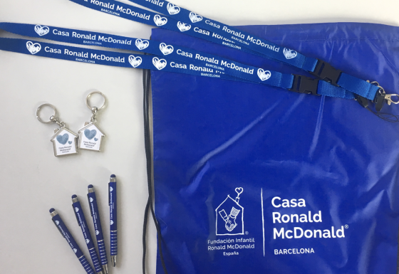 CASA RONALD McDONALD | Packaging – Gadgets – Branding – Impresión