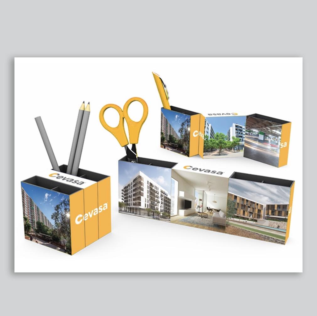 CEVASA | Packaging – Gadgets – Branding – Impresión
