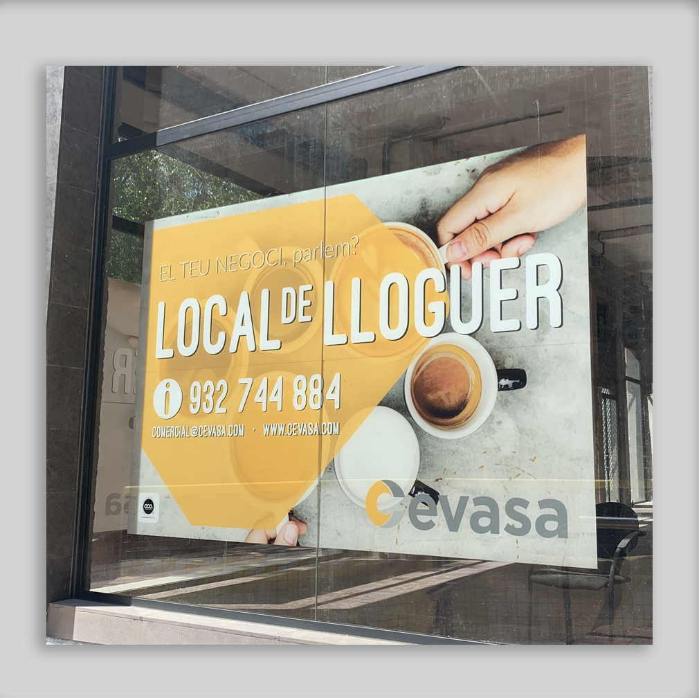 CEVASA  |  Cartelería – Gran formato – Impresión – Identidad – Diseño – Publicidad