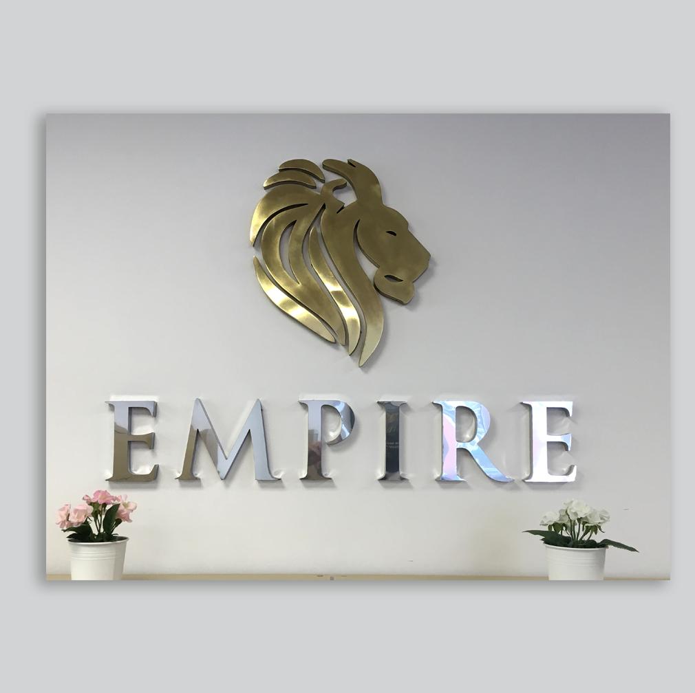 EMPIRE   Rotulación – Diseño – Publicidad – Gran formato – Letreros