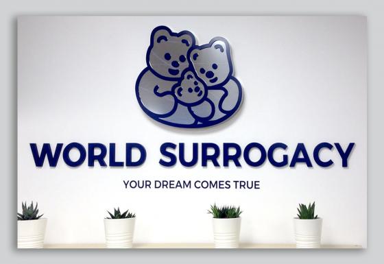 WORLD SURROGACY | Rotulación – Diseño – Publicidad – Gran formato – Letreros